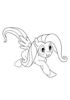 fluttershy-coloringpages3