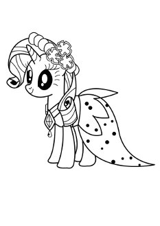 rarity-coloringpages4