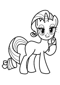 rarity-coloringpages7