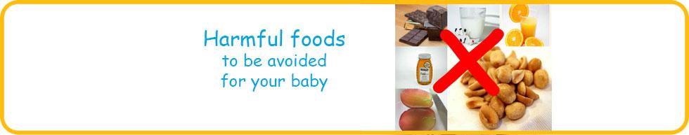 12 Worst Baby Food (0-1yr)