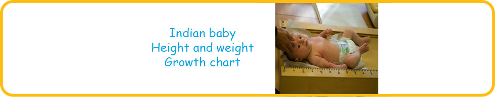 Indian Baby Weight And Height Chart