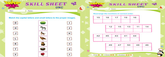 Free activity worksheets for lkg