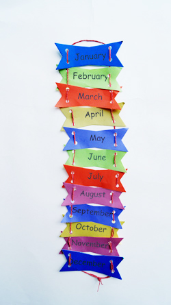 Art and craft activity months of the year for Craft of the month