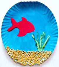 Art-Craft-Paper-Plate-Fish-Tank