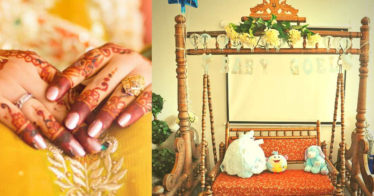 13 exciting godh bharai baby shower ideas stopboris Image collections