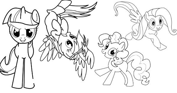 50 best my little pony coloring pages for your toddler - Mlp Coloring Pages