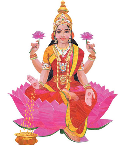 Goddess Lakshmi Names for Girls